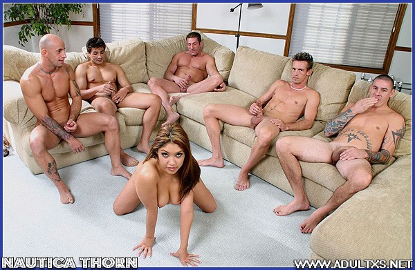 Nautica Thorn Gangbang Swallow - PussySpace